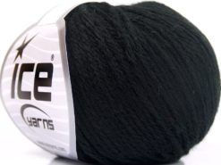 Lot of 8 Skeins Ice Yarns BABY MERINO SOFT DK (40% Merino Wool) Yarn Black