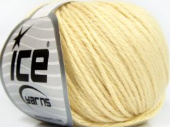 Lot of 8 Skeins Ice Yarns BABY MERINO SOFT DK (40% Merino Wool) Yarn Cream