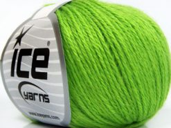 Lot of 8 Skeins Ice Yarns BABY MERINO SOFT DK (40% Merino Wool) Yarn Green