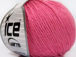 Lot of 8 Skeins Ice Yarns BABY MERINO SOFT DK (40% Merino Wool) Yarn Candy Pink