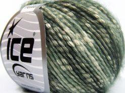 Lot of 8 Skeins Ice Yarns COTTON PASTEL (77% Cotton) Yarn Grey Shades White