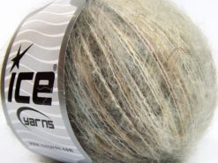 Lot of 8 Skeins Ice Yarns SALE LUXURY-PREMIUM (10% Alpaca 15% Wool) Yarn Camel Beige Cream
