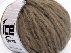 Lot of 8 Skeins Ice Yarns SOFTAIR TWEED (4% Viscose) Hand Knitting Yarn Camel