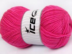 Lot of 4 x 100gr Skeins Ice Yarns MERINO GOLD LIGHT (60% Merino Wool) Yarn Candy Pink