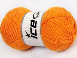 Lot of 4 x 100gr Skeins Ice Yarns LORENA (50% Cotton) Hand Knitting Yarn Gold