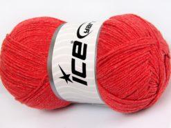 Lot of 4 x 100gr Skeins Ice Yarns LORENA (50% Cotton) Yarn Marsala Red
