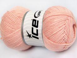 Lot of 4 x 100gr Skeins Ice Yarns LORENA (50% Cotton) Yarn Light Pink