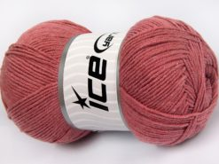 Lot of 4 x 100gr Skeins Ice Yarns LORENA (50% Cotton) Hand Knitting Yarn Orchid
