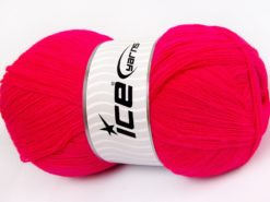 Lot of 4 x 100gr Skeins Ice Yarns KRISTAL Hand Knitting Yarn Gipsy Pink
