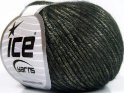 Lot of 8 Skeins Ice Yarns ROCKABILLY (67% Tencel) Hand Knitting Yarn Black