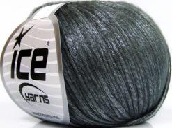 Lot of 8 Skeins Ice Yarns ROCKABILLY (67% Tencel) Hand Knitting Yarn Grey