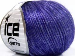 Lot of 8 Skeins Ice Yarns ROCKABILLY (67% Tencel) Hand Knitting Yarn Purple