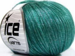 Lot of 8 Skeins Ice Yarns ROCKABILLY (67% Tencel) Yarn Emerald Green