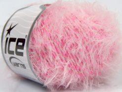 Lot of 8 Skeins Ice Yarns IMAGINE Hand Knitting Yarn Pink White