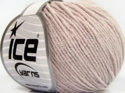 Lot of 8 Skeins Ice Yarns BABY MODAL (55% Modal) Hand Knitting Yarn Beige