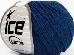 Lot of 8 Skeins Ice Yarns BABY MODAL (55% Modal) Hand Knitting Yarn Dark Blue