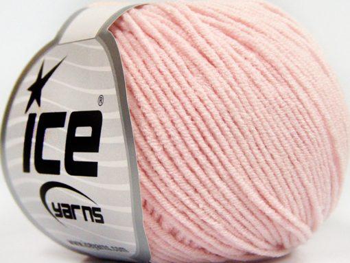 Lot of 8 Skeins Ice Yarns BABY MODAL (55% Modal) Hand Knitting Yarn Baby Pink