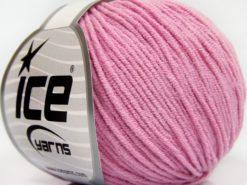 Lot of 8 Skeins Ice Yarns BABY MODAL (55% Modal) Hand Knitting Yarn Dark Pink