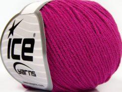 Lot of 8 Skeins Ice Yarns BABY MODAL (55% Modal) Hand Knitting Yarn Fuchsia