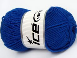 Lot of 8 Skeins Ice Yarns ELITE BABY Hand Knitting Yarn Blue