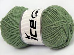 Lot of 8 Skeins Ice Yarns ELITE BABY Hand Knitting Yarn Light Khaki