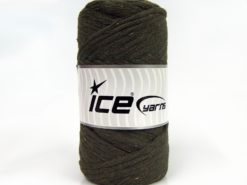 250 gr ICE YARNS NATURAL COTTON JUMBO (100% Cotton) Hand Knitting Yarn Khaki