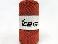 250 gr ICE YARNS NATURAL COTTON JUMBO (100% Cotton) Yarn Light Copper