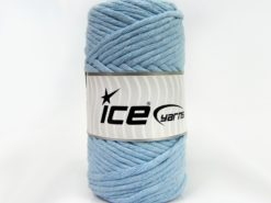 250 gr ICE YARNS NATURAL COTTON JUMBO (100% Cotton) Yarn Baby Blue