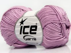 Lot of 6 Skeins Ice Yarns GIZA COTTON Hand Knitting Yarn Light Pink