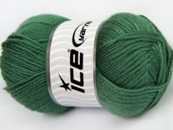 Lot of 4 x 100gr Skeins Ice Yarns DORA Hand Knitting Yarn Light Green
