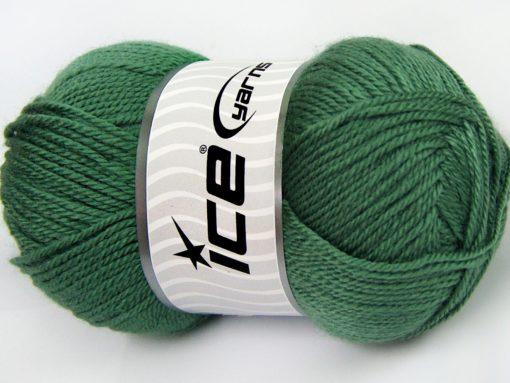 Lot of 4 x 100gr Skeins Ice Yarns DORA Hand Knitting Yarn Light Green