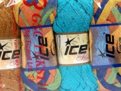 Lot of 4 x 100gr Skeins Ice Yarns SCARF YARNS MIXED LOT Scarf Yarn Scarf Yarns