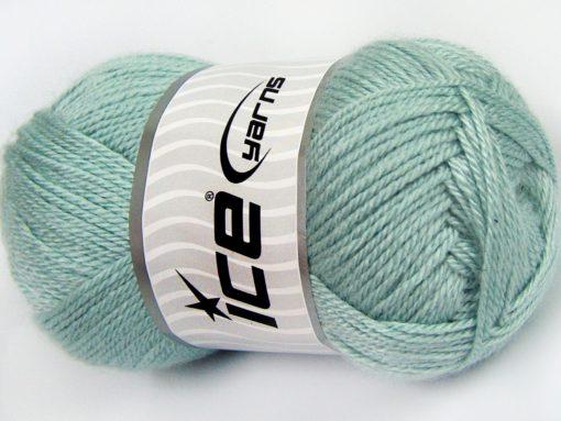 Lot of 4 x 100gr Skeins Ice Yarns DORA Hand Knitting Yarn Water Green