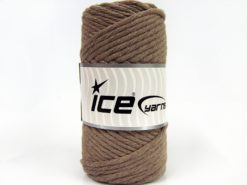 250 gr ICE YARNS NATURAL COTTON JUMBO (100% Cotton) Hand Knitting Yarn Camel