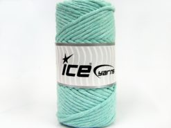 250 gr ICE YARNS NATURAL COTTON JUMBO (100% Cotton) Yarn Mint Green