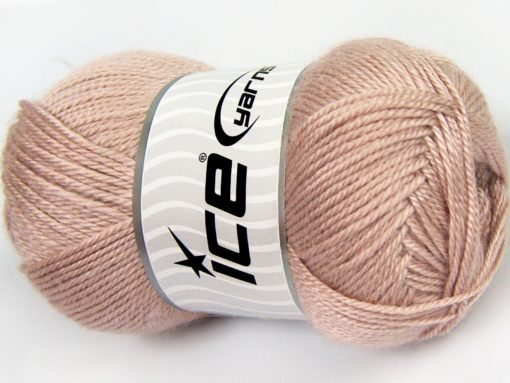 Lot of 4 x 100gr Skeins Ice Yarns DORA Hand Knitting Yarn Powder Pink