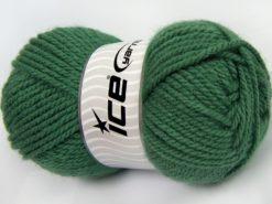 Lot of 4 x 100gr Skeins Ice Yarns Bulky ATLAS Hand Knitting Yarn Hunter Green