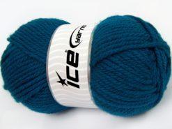 Lot of 4 x 100gr Skeins Ice Yarns Bulky ATLAS Hand Knitting Yarn Teal