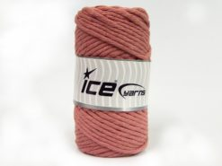 250 gr ICE YARNS NATURAL COTTON JUMBO (100% Cotton) Yarn Rose Pink