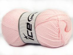 Lot of 4 x 100gr Skeins Ice Yarns WAYUU Hand Knitting Yarn Baby Pink