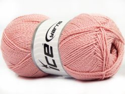 Lot of 4 x 100gr Skeins Ice Yarns WAYUU Hand Knitting Yarn Light Pink