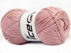 Lot of 4 x 100gr Skeins Ice Yarns WAYUU Hand Knitting Yarn Powder Pink