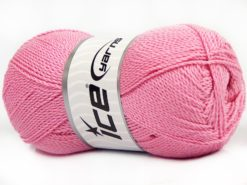 Lot of 4 x 100gr Skeins Ice Yarns WAYUU Hand Knitting Yarn Pink