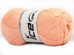 Lot of 4 x 100gr Skeins Ice Yarns WAYUU Hand Knitting Yarn Light Salmon