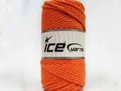 250 gr ICE YARNS COTTON ROPE (100% Cotton) Hand Knitting Yarn Orange