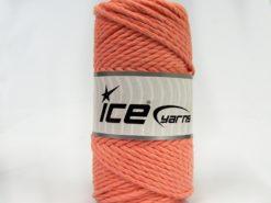 250 gr ICE YARNS COTTON ROPE (100% Cotton) Hand Knitting Yarn Light Salmon