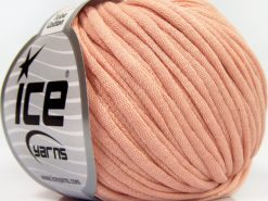 Lot of 8 Skeins Ice Yarns TUBE COTTON (70% Cotton) Yarn Light Pink