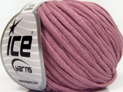 Lot of 8 Skeins Ice Yarns TUBE COTTON (70% Cotton) Hand Knitting Yarn Orchid