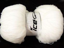 380 gr ICE YARNS SALE SUMMER Hand Knitting Yarn White