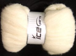 300 gr ICE YARNS SALE LUXURY-PREMIUM (30% Baby Alpaca 31% Merino Wool) Yarn Ecru